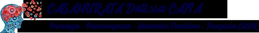 Dott.ssa Catia Casamurata - Psicologa - Psicoterapeuta - Mediatrice Familiare
